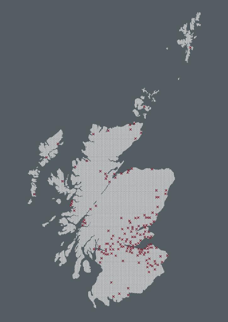 Great Tapestry of Scotland Stitchers Map